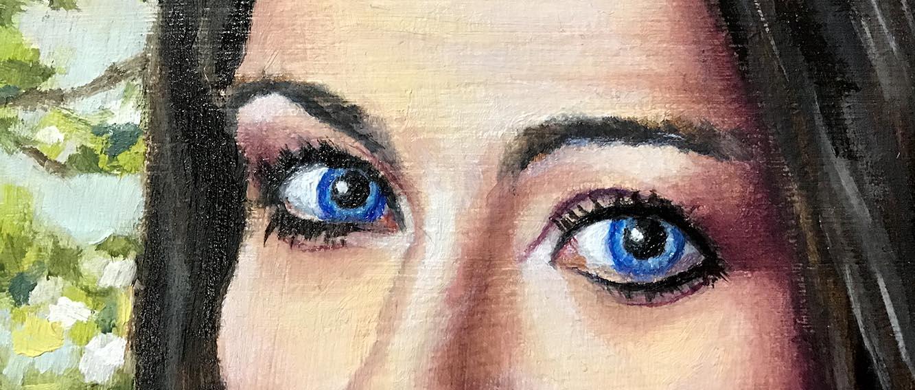 Galway Girl's eyes